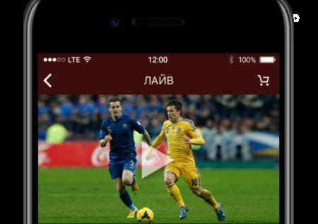 Приложение Олимп на Андроид