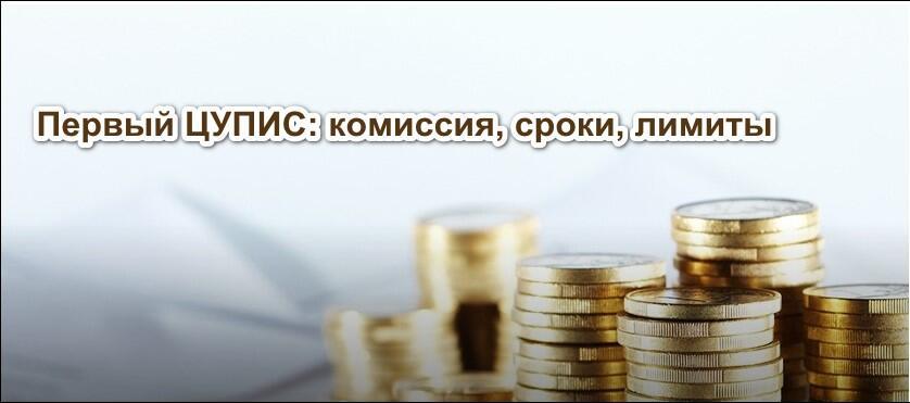 Финансовые операции ЦУПИС