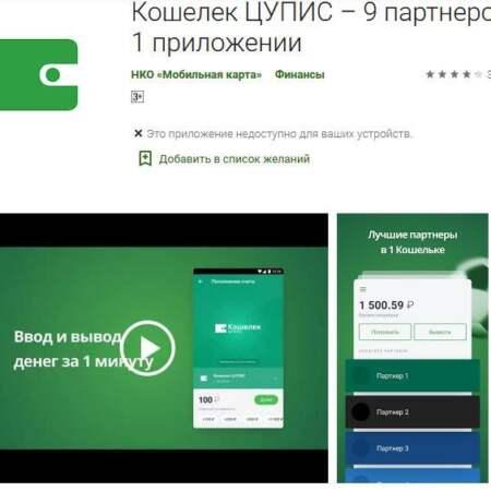 Как скачать и установить приложение ЦУПИС для мобильных устройств