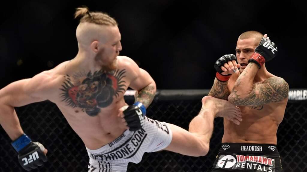 UFC 2021 Дастин Порье vs Конор Макгрегор