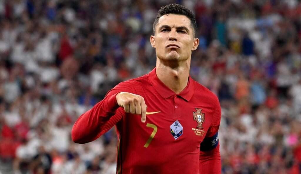 Криштиану Роналду Евро 2020